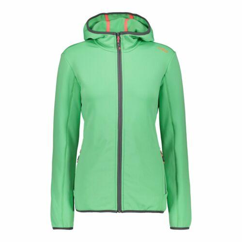 CMP Pinewood chaqueta Child fix Hood Jacket Pink transpirable ahumado