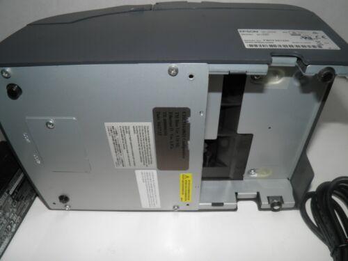 MICROS EPSON TM-U220B M188B Dot Matrix POS Receipt Printer SERIAL wPower Supply