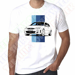 Details About Personalisable Ford Focus Mk1 Rs Mens 100 Cotton White T Shirt