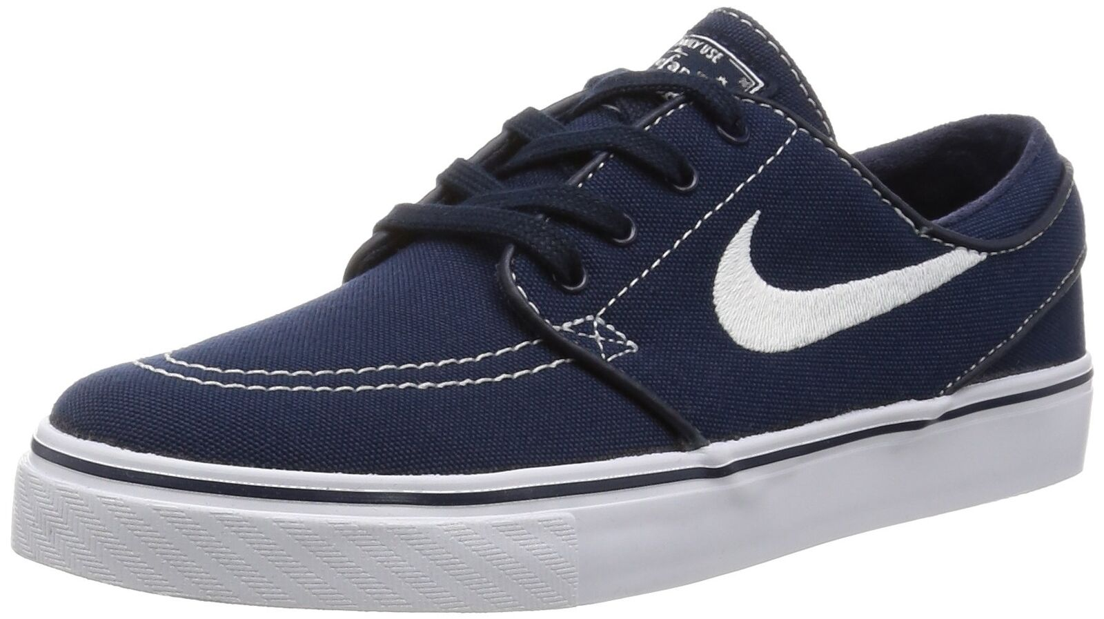NIKE Men's Zoom Stefan Janoski Skate Shoe Obsidian/White-gum Light Brown 11.5