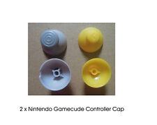 2 x Analog Joystick Thumbstick Cap Replacement Nintendo Gamecube Controller New