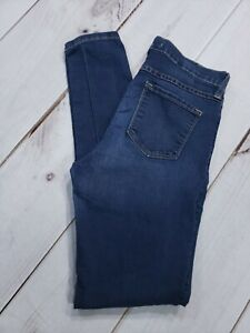 Flying-Monkey-Womens-Style-L7677-Dark-Wash-Skinny-Jeans-Size-28-Inseam-30-034