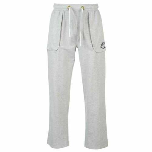 Homme Lonsdale Boxe Jogging Sweat Pantalon Coton Neuf