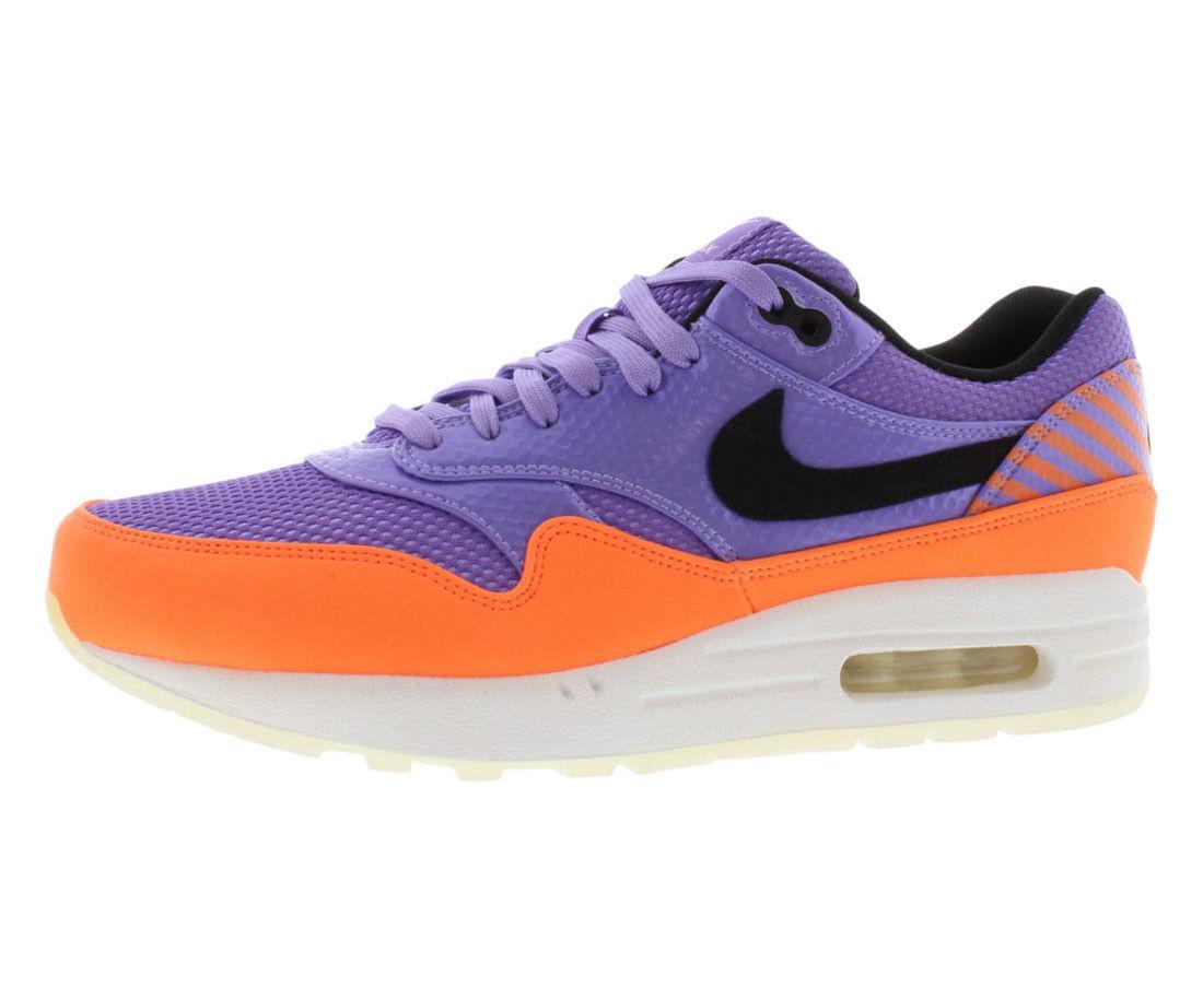 Nike air max 1 fb premio qs bianco volubile pack violet purple bianco qs arancione nero 9 e49141