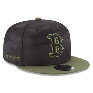 f7d0b2c7ff2 Boston Red Sox Era 9fifty MLB 2018 Memorial Day Snapback Hat Cap Military