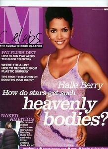 halle berry courteney cox joely richardson sunday magazine 12 jan 2003 ebay. Black Bedroom Furniture Sets. Home Design Ideas