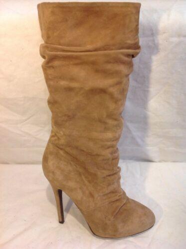 Size Mid Aldo Calf 39 Brown Boots Suede W6qgnAHU