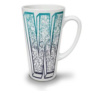 Wellcoda Blue NEW White Tea Coffee Latte Mug 12 17 oz | Wellcoda
