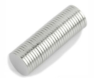 100pcs Strong Neodymium Magnet 12x 2 mm Disc N50 Rare Earth Cylinder Magnets
