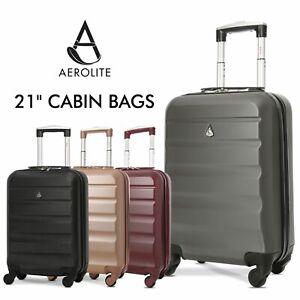 e45c49046 La imagen se está cargando Aerolite-Super-Ligero-ABS-Cubierta-Rigida-Viaje- Carry-