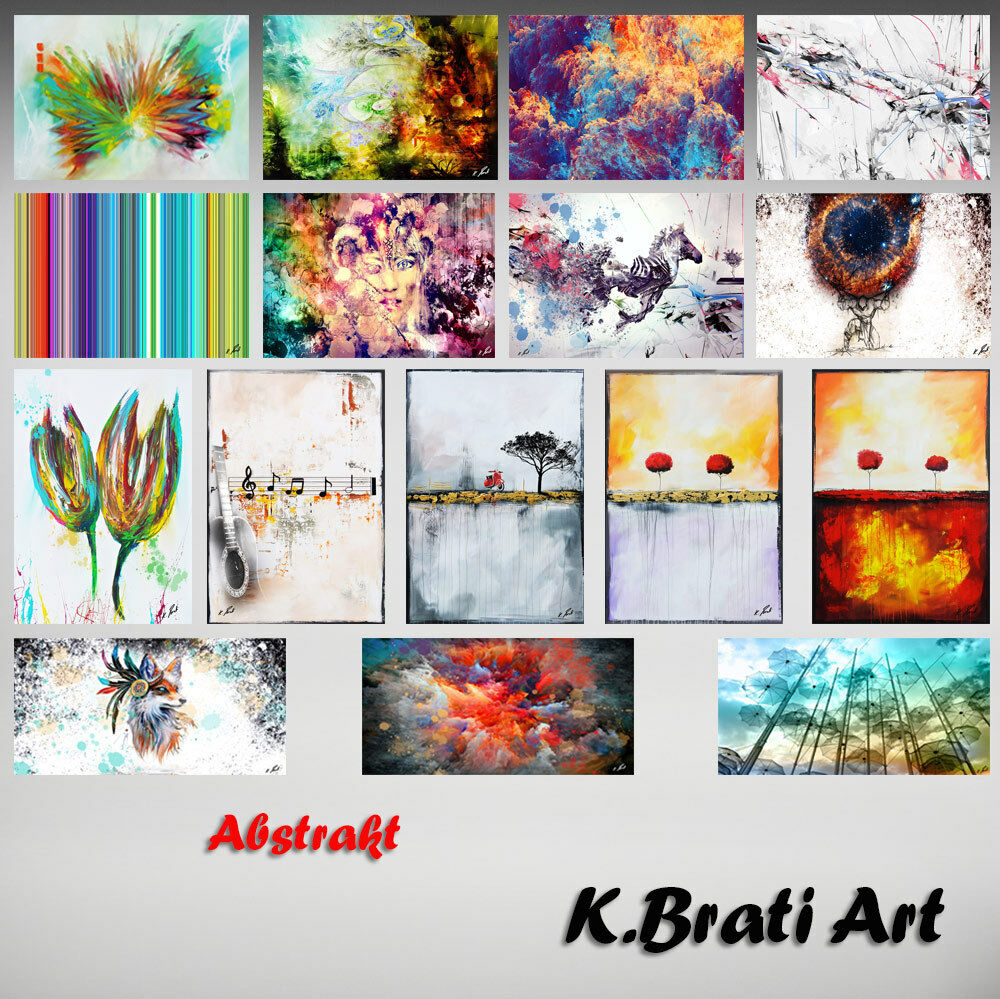 Image Bleu Tons ART Toile Abstrait ART Tons Images Peintures murales Art pression d0213 61a8a2
