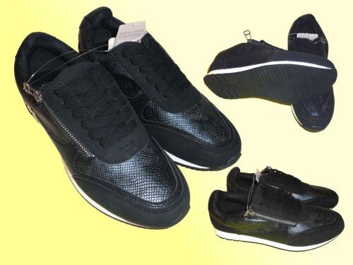 Damen Freizeitschuhe Fashion Sneakers Schuhe Schnürschuhe Gr 38-40  NEU