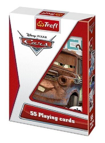 Cars PIXAR mazzo di 55 carte da gioco Bambini classico Poker