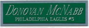 BRIAN WESTBROOK EAGLES NAMEPLATE AUTOGRAPHED Signed Football HELMET JERSEY PHOTO