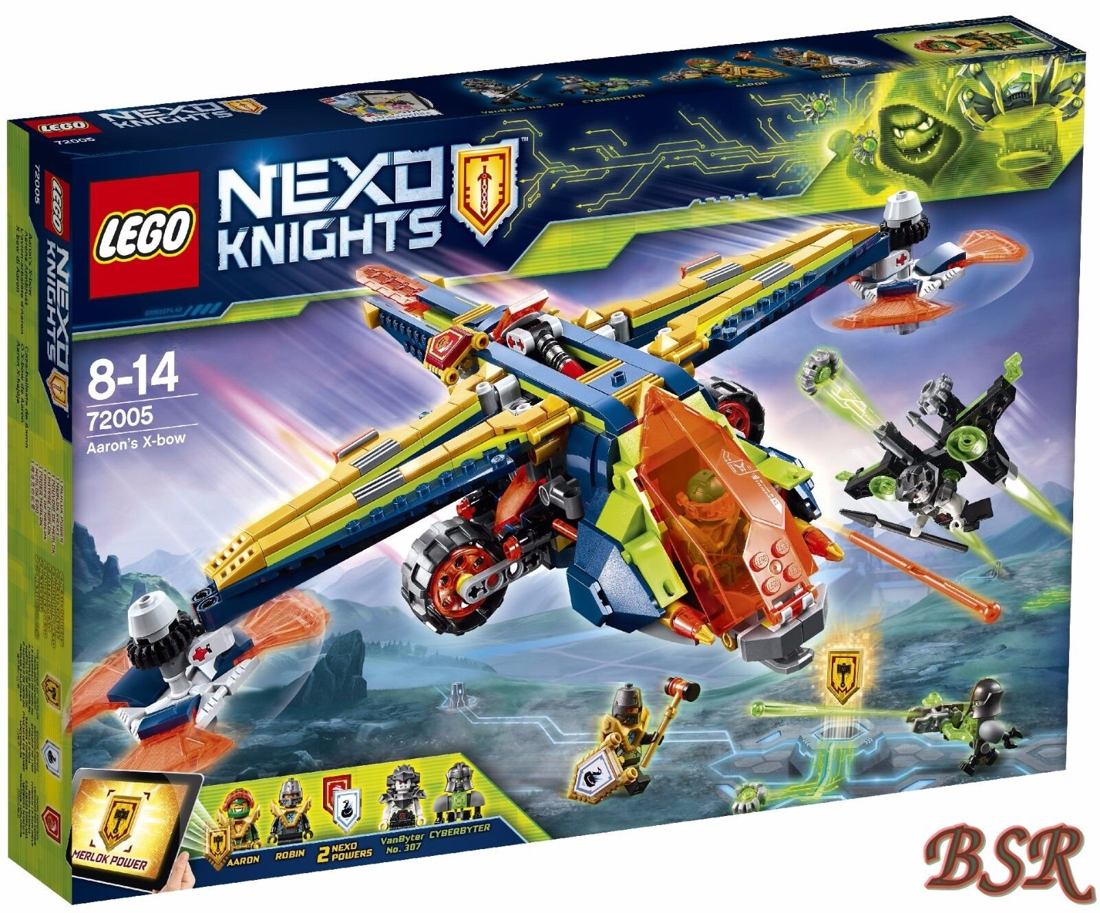 LEGO® Nexo Knights: 72005 Aarons Armbrust & 0.-€Versand & NEU & OVP