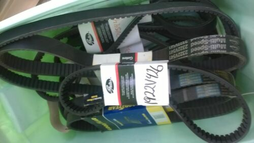 A78 Belt V-Belt Gates Goodyear Dayton Browning Thermoid Napa Pix  A Series A26
