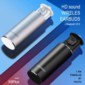 Fineblue-X9-PLUS-Mini-Bluetooth-5-0-Stereo-Headset-Wireless-Earphone-Earbuds-RF