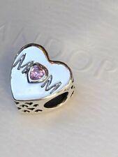 5 pcs Heart Charm Antique Silver Tone 61177-2048