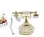 Vintage-Antik-Retro-Anrufer-Id-Handgeraet-Schreibtisch-Keramik-Telefon-Freisprech Indexbild 1