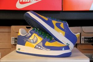 0f8929839aa4 NIKE PREMIUM Air Force One BRAZIL WORLD CUP Deadstock Size 10 ...