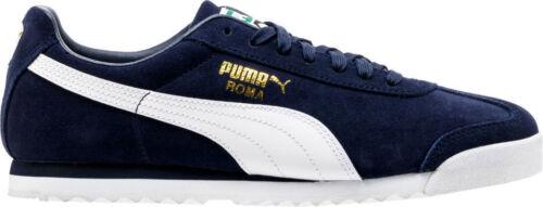 Roma Trainers Uk Suede New bianco 5 Puma Size Peacoat Brand 9 FEOfqE