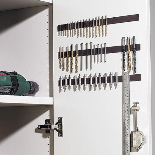 3 m Ruban Adhésif Magnétique Aimant-Ruban adhésif détachables ordre système mur 4,99 €//m