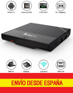 Smart-TV-Box-KM8P-1GB-8GB-Android-7-1-S912-OctaCore-WiFi-4K-H-265-LAN-Streaming