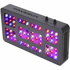 300W Dimmable LED Grow Light 12-band Full Spectrum Indoor Plant Hydroponic Panel