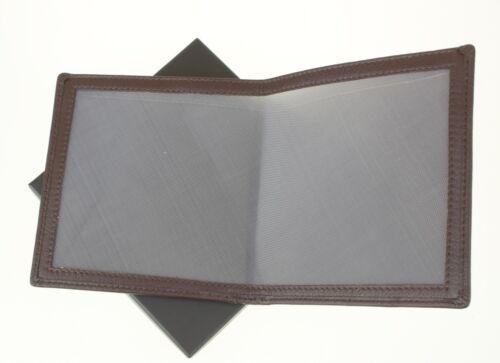 ARMA DA FUOCO FUCILE /& certificato portafoglio titolare Premium in Pelle OX sangue SGL