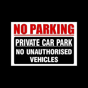 No-Parking-Private-Car-Park-3mm-Metal-Sign-3-Sizes-MISC88