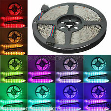 waterproof 5M RGB 5050 300 LED Strip,24 KeyIR Remote Controller,Power Suppy