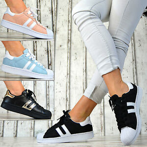 Design DE LUXE Chaussures sport Baskets Femme course pastelfarbe