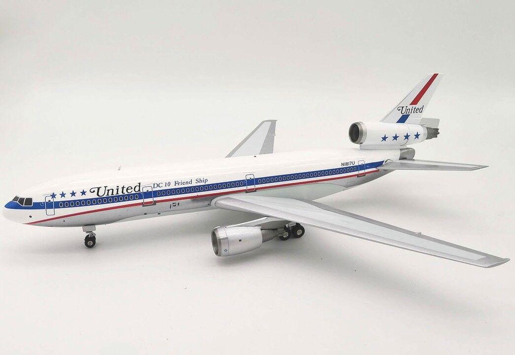 IFDC100517PB 1 200 United Airlines Mcdonnell Douglas Dc-10-10 N1817u mit Ständer  | Erste Gruppe von Kunden