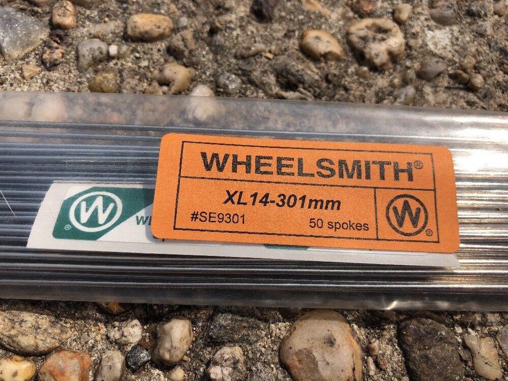 Wheelsmith XL14 301mm Bicycle Wheel Spokes 50  Spokes  large discount