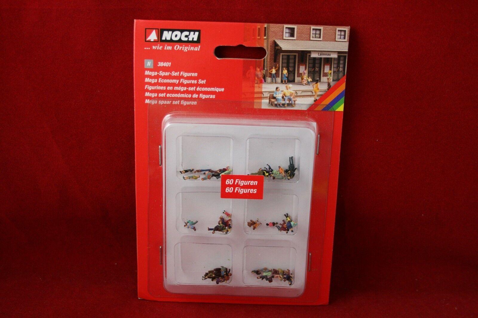 Ancora 38401 Spur N PERSONAGGI 60 pezzi  MEGA-SPAR-SET-personaggi /Nuovo/Scatola Originale