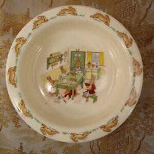 Bunnykins-Kitchen-Table-Cooking-Bowl-Royal-Doulton