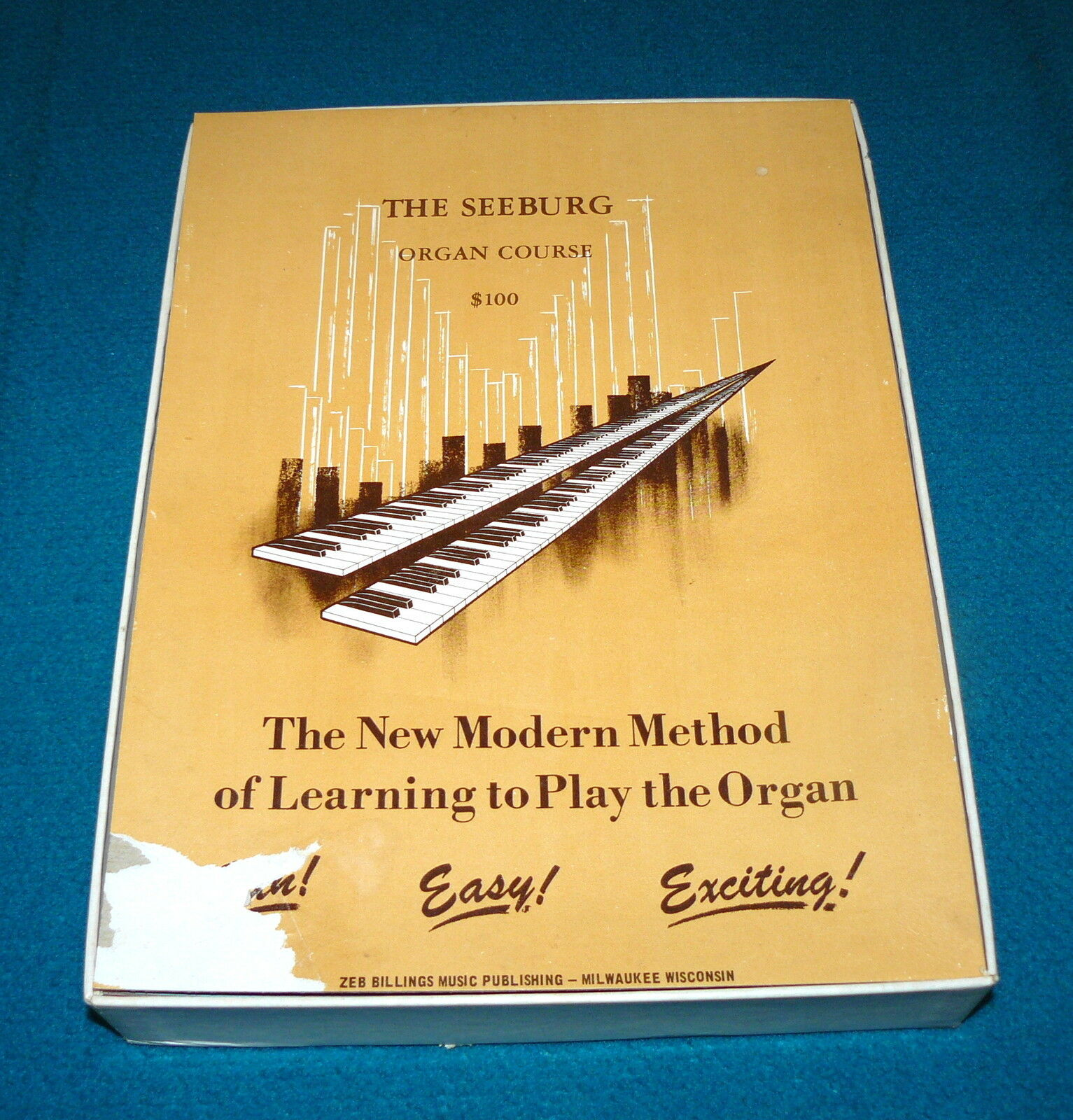 Vintage : SEEBURG Organ Course 97 of 112 Pieces SHEET MUSIC @ Zeb Billings 1964