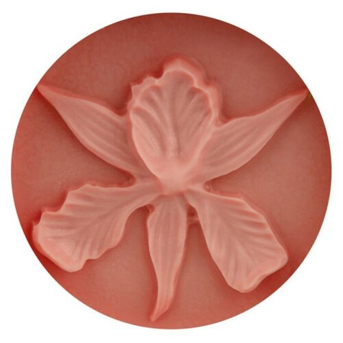 With Leaf Orchid Shape Silicone Mold 3D Embossing Fondant Cake Tools Csy AcWhA