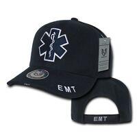 Emergency Medical Technician Emt Cross Ems Paramedic Baseball Cap Hat Caps Hats