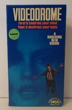 Videodrome Rare & OOP Horror Sci-Fi Movie Original MCA Home Video Release VHS