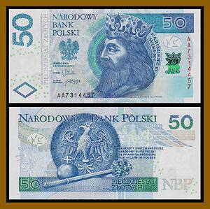 Pick NEW UNC Poland 2012-20 Zlotych