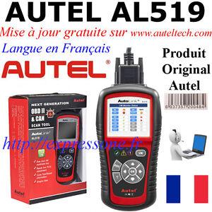 Autel-AL519-Interface-Diagnostique-Multimarque-pro-obd-multi-diag-en-francais