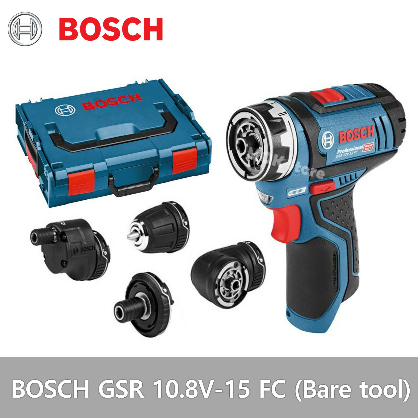 bosch gsr 10 8v 15 fc professional drill driver bare tool body free fedex ebay. Black Bedroom Furniture Sets. Home Design Ideas