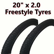 57-406 Kids Bike Bicycle BMX /& SCH Tubes 2x Tyre 20 x 2.125