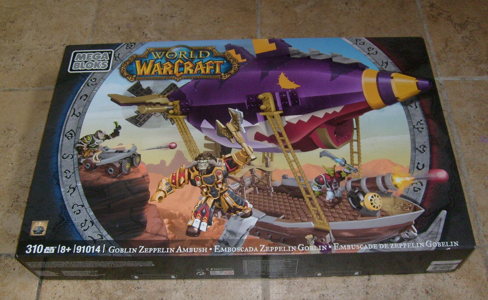 Neue mega - bloks world of warcraft zeppelinen hinterhalt 91014 freie s   h