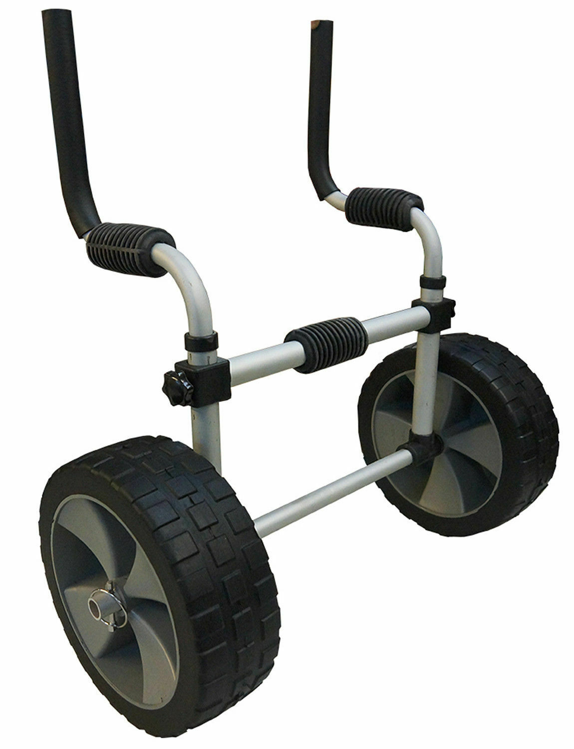 Riber Kayak Trolley for Sit On Tops - 45kg Capacity Robust Puncture Proof Tyres