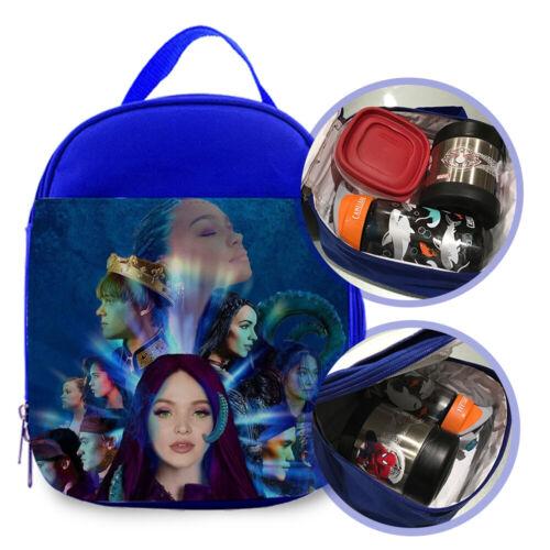 "Disney Descendants 3 1 Custom Printed Lunch Bag For Kids Size 7/""L X 9/""H X 3/""W"