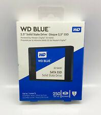 SATA 6Gb//s 2.5 Inch WDBNCE2500PNC WD Blue 250GB Internal SSD Solid State Drive