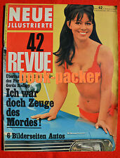 NEUE REVUE 1966 Nr. 42 (16.10.66): Johnny Halliday / Michael Pfleghar