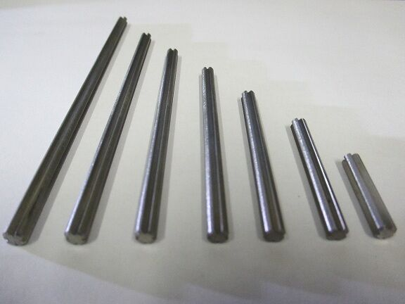 Set of 7 stainless steel axles.     X  style works with Lego Technic gears  d255d3
